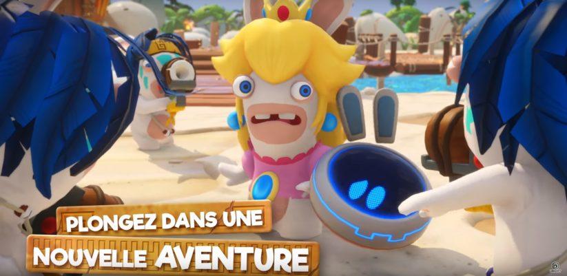 Jeu Mario + The Lapins Crétins : Kingdom Battle sur Nintendo Switch : Présentation de la dernière partie du DLC