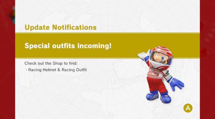 Nouveau costume dans Super Mario Odyssey