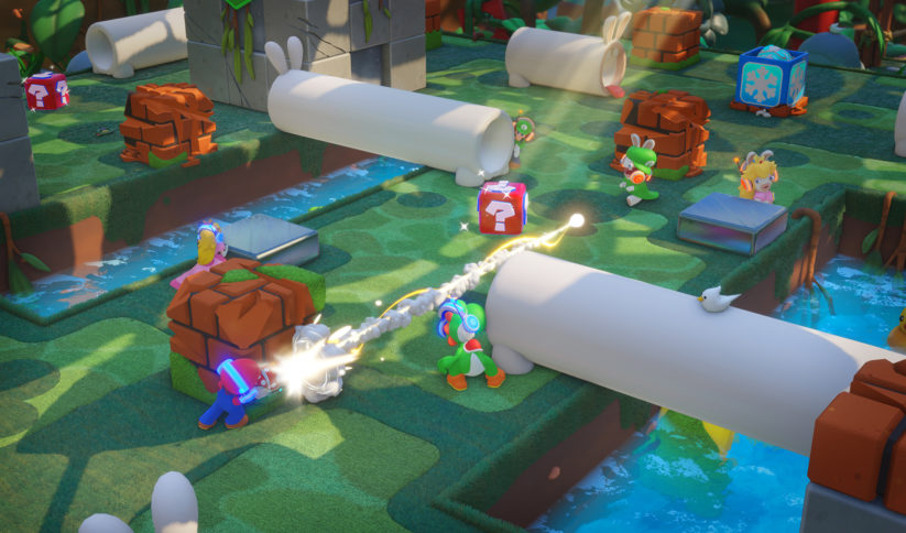 Image de Mario + The Lapins Crétins Kingdom Battle Versus sur Nintendo Switch