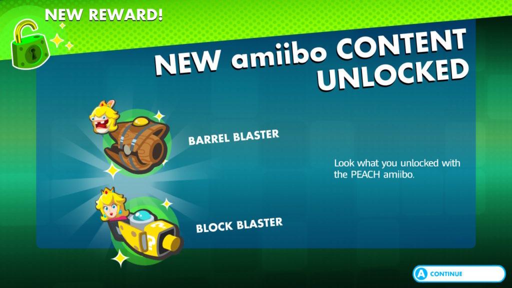Mario + The Lapins Cretins Kingdom Battle Recompenses Amiibo Peach