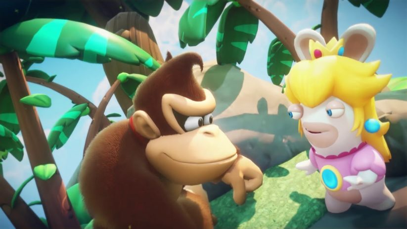 Jeu Mario + The Lapins Crétins : Kingdom Battle sur Nintendo Switch : arrivée imminente du DLC Donkey Kong Adventure