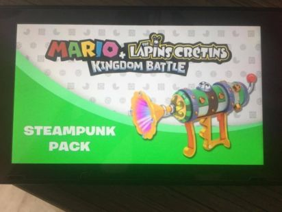 Pack Steampunk du Season Pass Mario + The Lapins Cretins Kingdom Battle