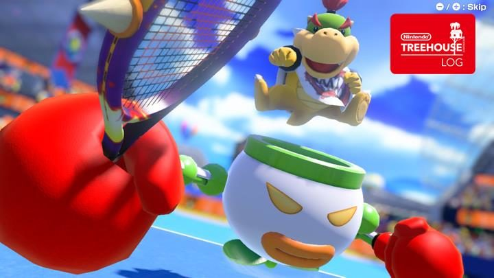 Jeu Mario Tennis Aces sur Nintendo Switch : Bowser Jr