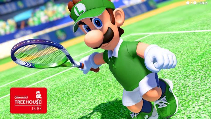 Jeu Mario Tennis Aces sur Nintendo Switch : Luigi se présente