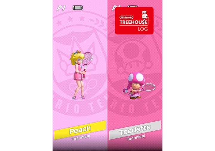 Jeu Mario Tennis Aces sur Nintendo Switch : personnages techniques