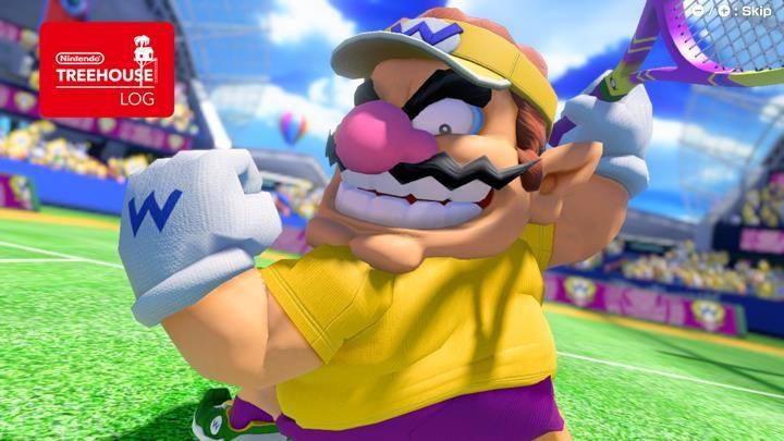 Jeu Mario Tennis Aces sur Nintendo Switch : Wario parade