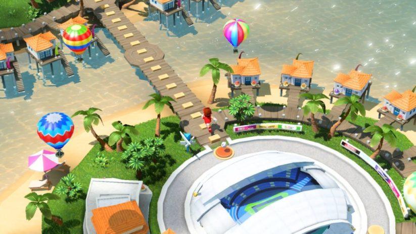 Screenshot du jeu Mario Tennis Aces sur Nintendo Switch : mode Histoire
