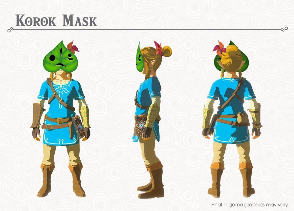 Zelda Breath of the Wild : trouver le masque Korok dans le DLC 1 Les épreuves légendaires