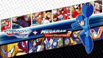 Jeu Mega Man Legacy Collection 1 & 2 sur Nintendo Switch : cover