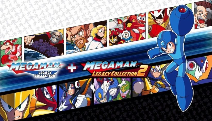Jeu Mega Man Legacy Collection 1 & 2 sur Nintendo Switch : cover