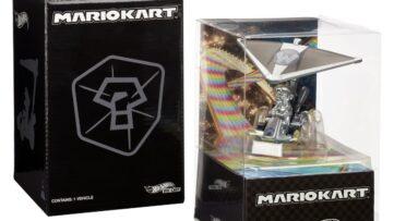 Métal Mario de Mario Kart 8 Deluxe arrive en version physique Hot Wheels
