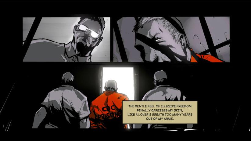 Jeu Metropolis Lux Obscura sur Nintendo Switch : sortie de prison
