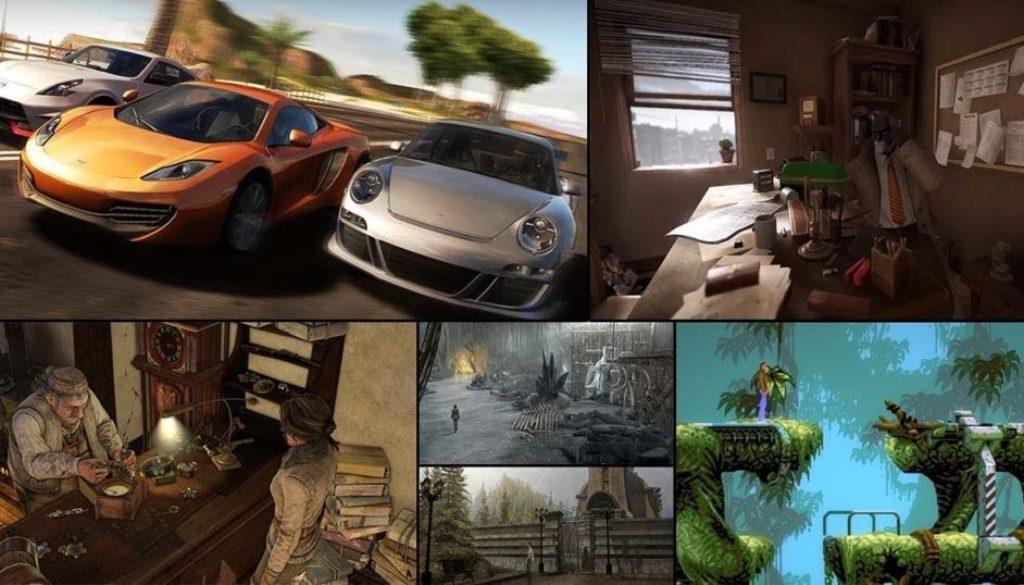 Microïds annonce l'arrivée de 6 jeux sur la Switch : Gear.Club, Blacksad, Flashback Remastered Edition & les 3 Syberia