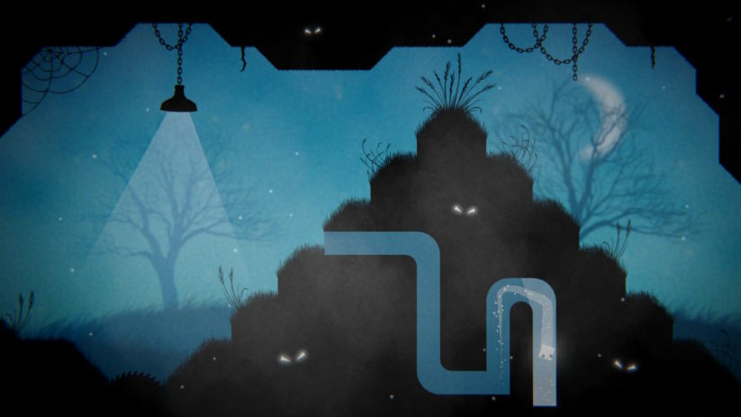 Jeu Midnight Deluxe sur Nintendo Switch : tunnel