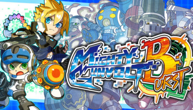 Image du jeu Mighty Gunvolt Burst sur Nintendo Switch : Artwork du jeu