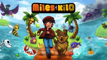 Jeu Miles & Kilo sur Nintendo Switch : artwork du jeu