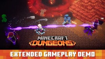 Minecraft: Dungeons : du gameplay officiel sur 28+ minutes