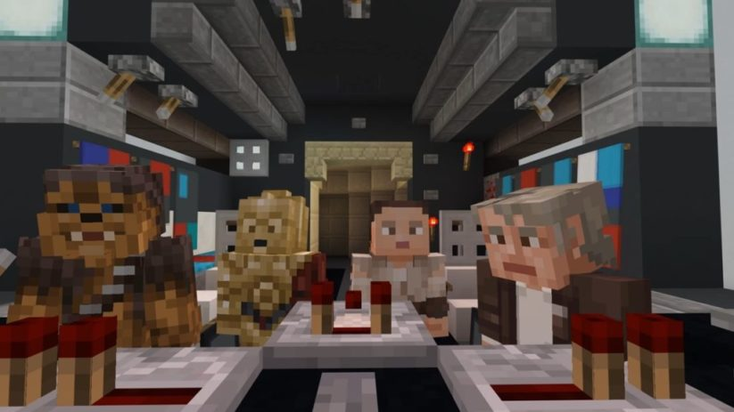 Star Wars Sequel Skin Pack pour le jeu Minecraft sur Nintendo Switch