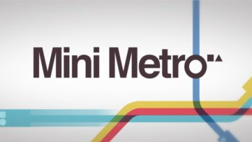 Jeu Mini Metro sur Nintendo Switch : artwork du jeu