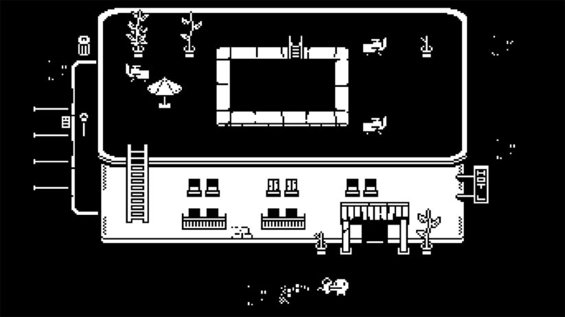 Jeu Minit sur Nintendo Switch : on visitera quelques hotels miteux
