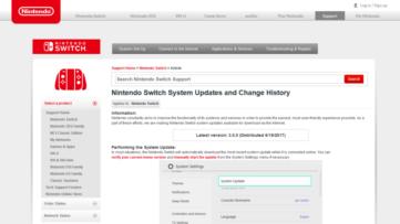 [Mise à jour 3.0.0] MAJ du firmware 3.0.0 de la Switch : voici les détails