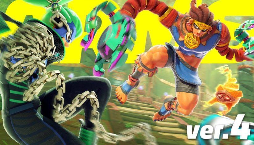 V 4.0 d'ARMS : Misango le maya arrive et précède un événement spécial