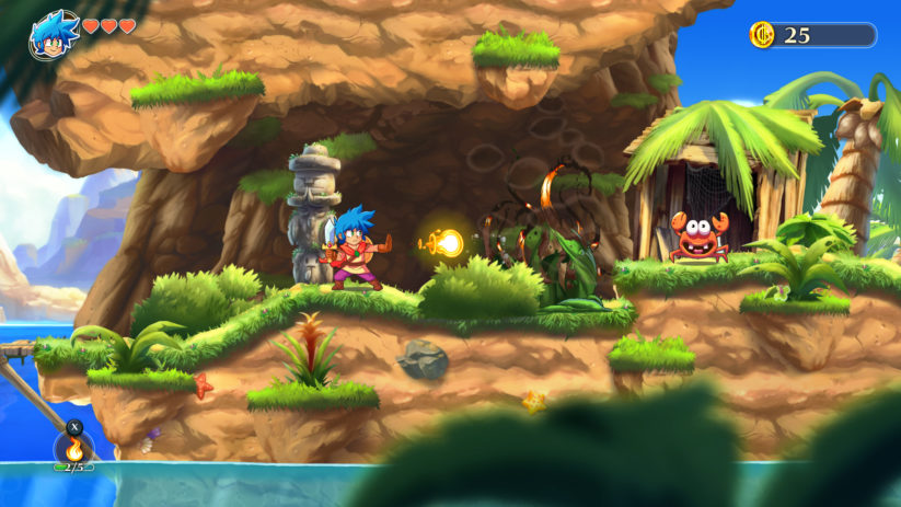 Jeu Monster Boy and the Cursed Kingdom sur Nintendo Switch : Jin entre en scène
