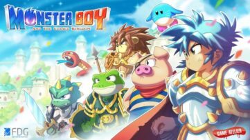 Monster Boy and the Cursed Kingdom arrive sur Switch : un bel hommage aux JV à l'ancienne