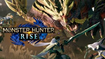 Jeu Monster Hunter Rise sur Nintendo Switch - artwork du jeu