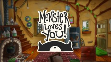 Jeu Monster Loves You! sur Nintendo Switch : artwork du jeu