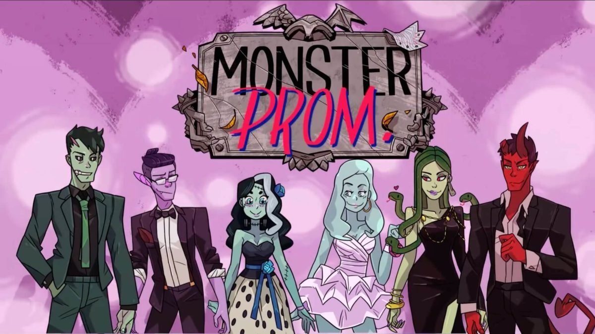 Beautiful Glitch ne ferme pas la porte a un portage de Monster Prom et Monster Prom 2: Holiday Season
