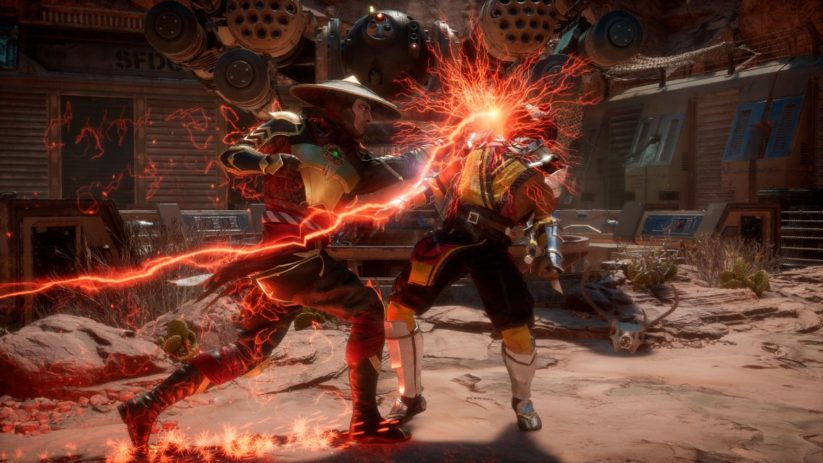 Titre Mortal Kombat 11 sur Nintendo Switch : screenshot 1