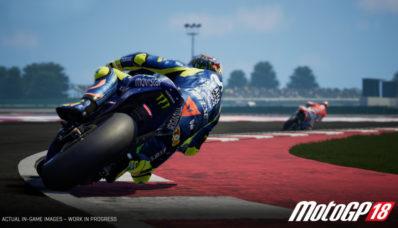 Moto GP 18 sortira aussi sur la Switch