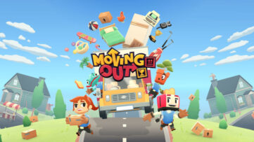 Jeu Moving Out sur Nintendo Switch : Artwork du jeu