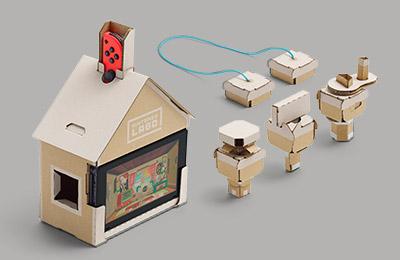 Image de la maison du Multi-Kit de Nintendo Labo