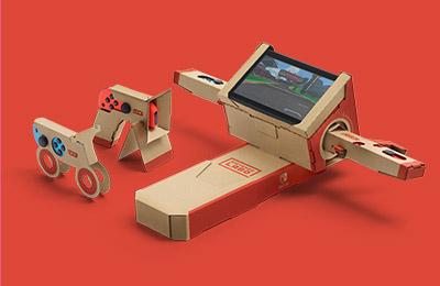 Image de la moto du Multi-Kit de Nintendo Labo
