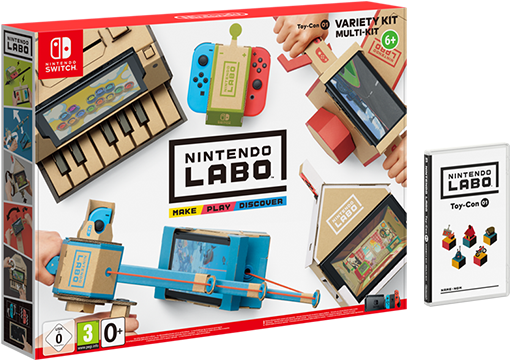 Image du packaging du Multi-Kit de Nintendo Labo