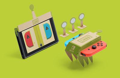 Image de la voiture téléguidée du Multi-Kit de Nintendo Labo
