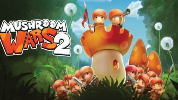 Jeu Mushroom Wars 2 sur Nintendo Switch : artwork du jeu