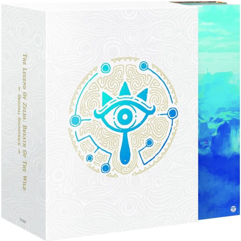 BO Zelda Breath of the Wild : coffret (2/3)