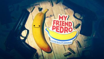 Jeu My Friend Pedro sur Nintendo Switch : artwork de présentation E3 2018