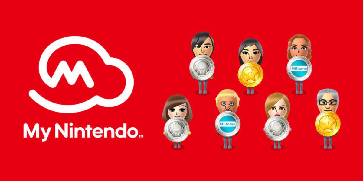 My Nintendo : un nouveau système de points or et des récompenses Switch en mars