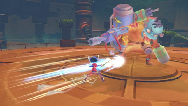 Jeu My Time At Portia sur Nintendo Switch : combattez des monstres curieux