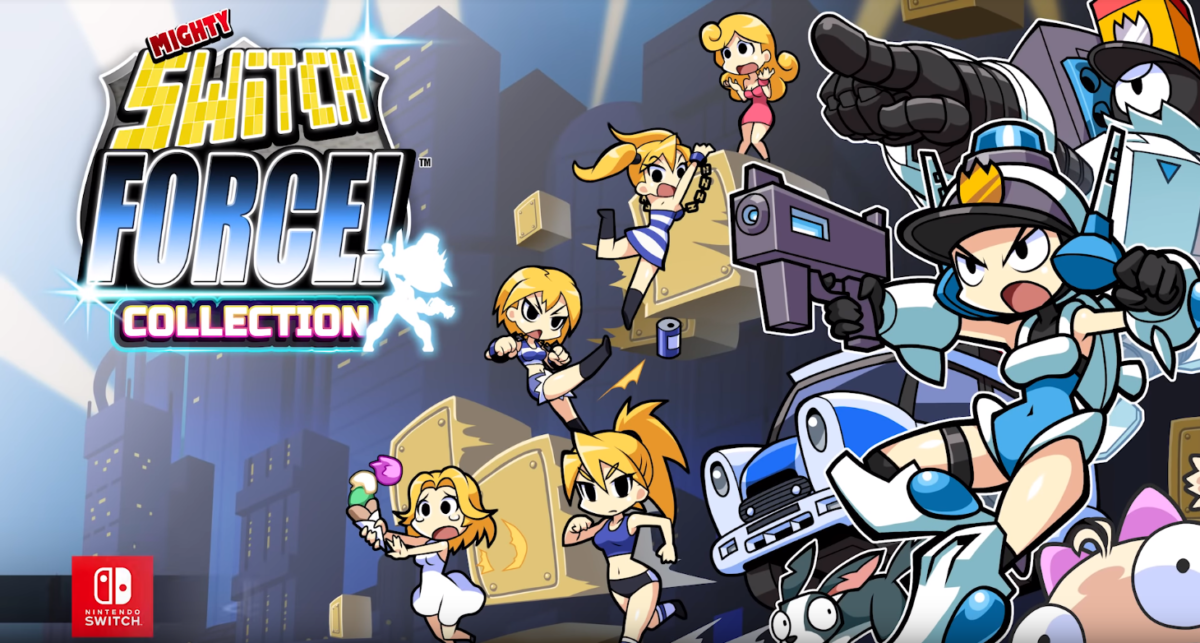 Mighty Switch Force! Collection se pliera en quatre cet été