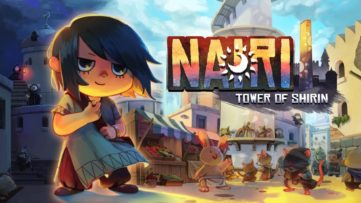 Jeu Nairi : Tower of Shirin sur Nintendo Switch : artwork du jeu