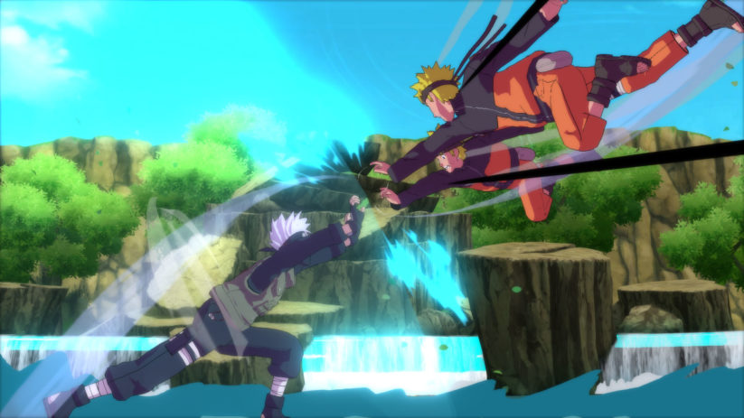 Jeu Naruto : Ultimate Storm Trilogy sur Nintendo Switch : screenshot