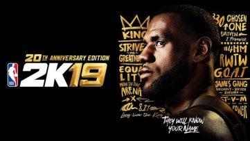 NBA 2k19 : image de la jaquette