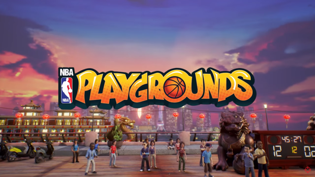 NBA Playgrounds sur Nintendo Switch