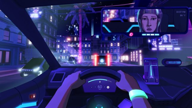 Jeu Neo Cab sur Nintendo Switch : Savy est votre meilleure amie