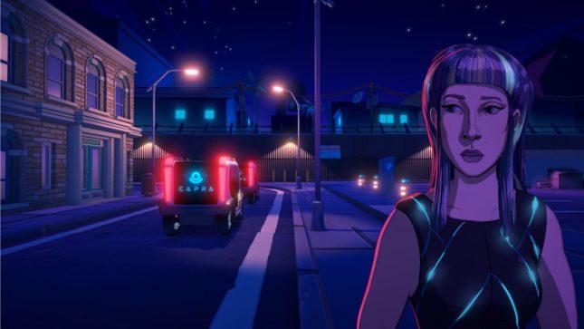 Jeu Neo Cab sur Nintendo Switch : Capra règne sur la ville
